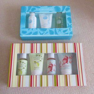 2 Bath Gift Sets Crabtree & Evelyn NEW